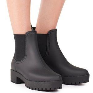Jeffrey Campbell Cloudy Chelsea Rain Boots